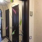 Доборы на входные двери с зеркалом