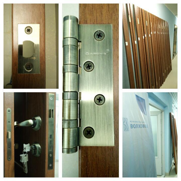 фото установки дверей